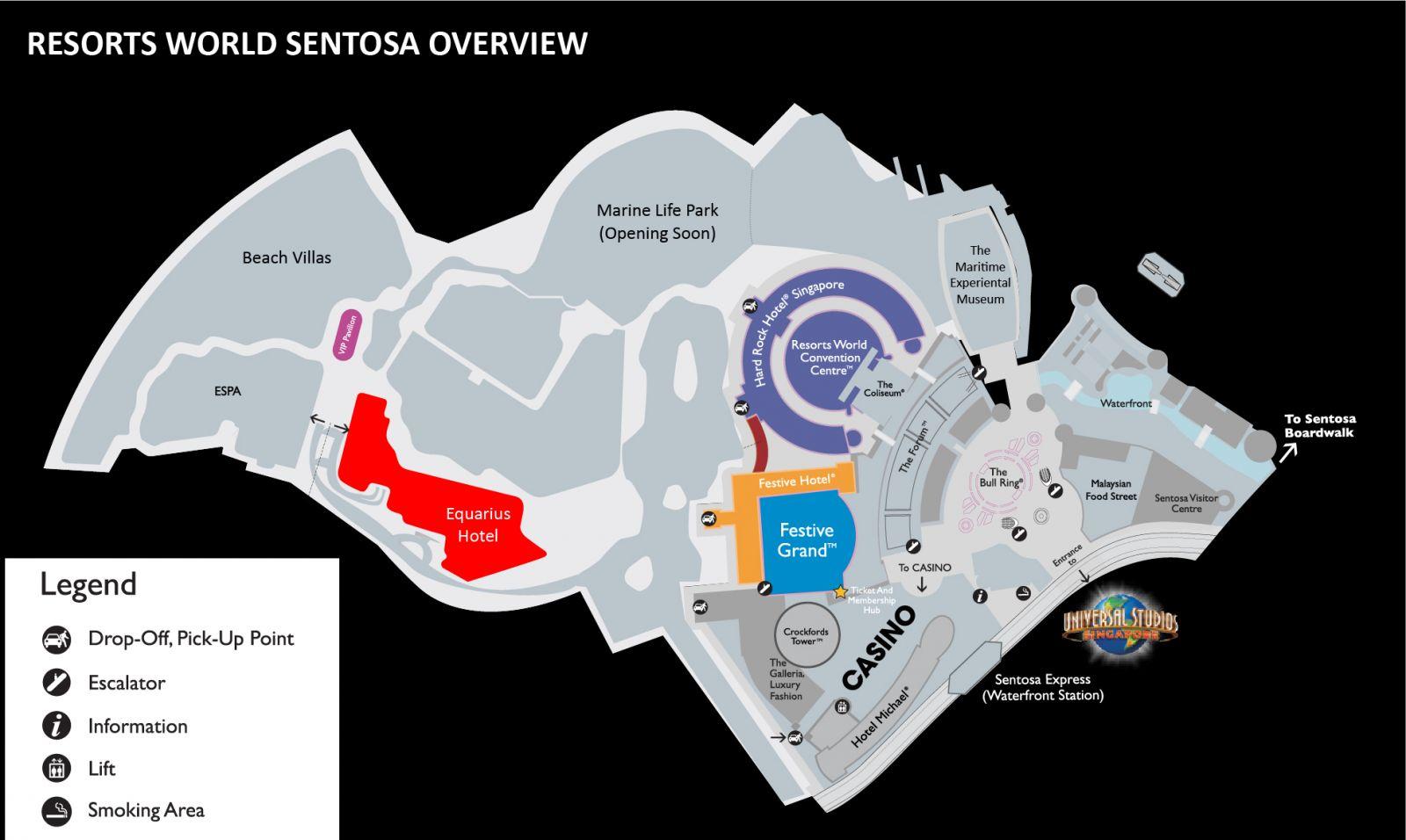 Rt10 Venue Hotel Resorts World Sentosa Singapore
